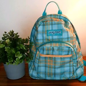 JANSPORT plaid small backpack
